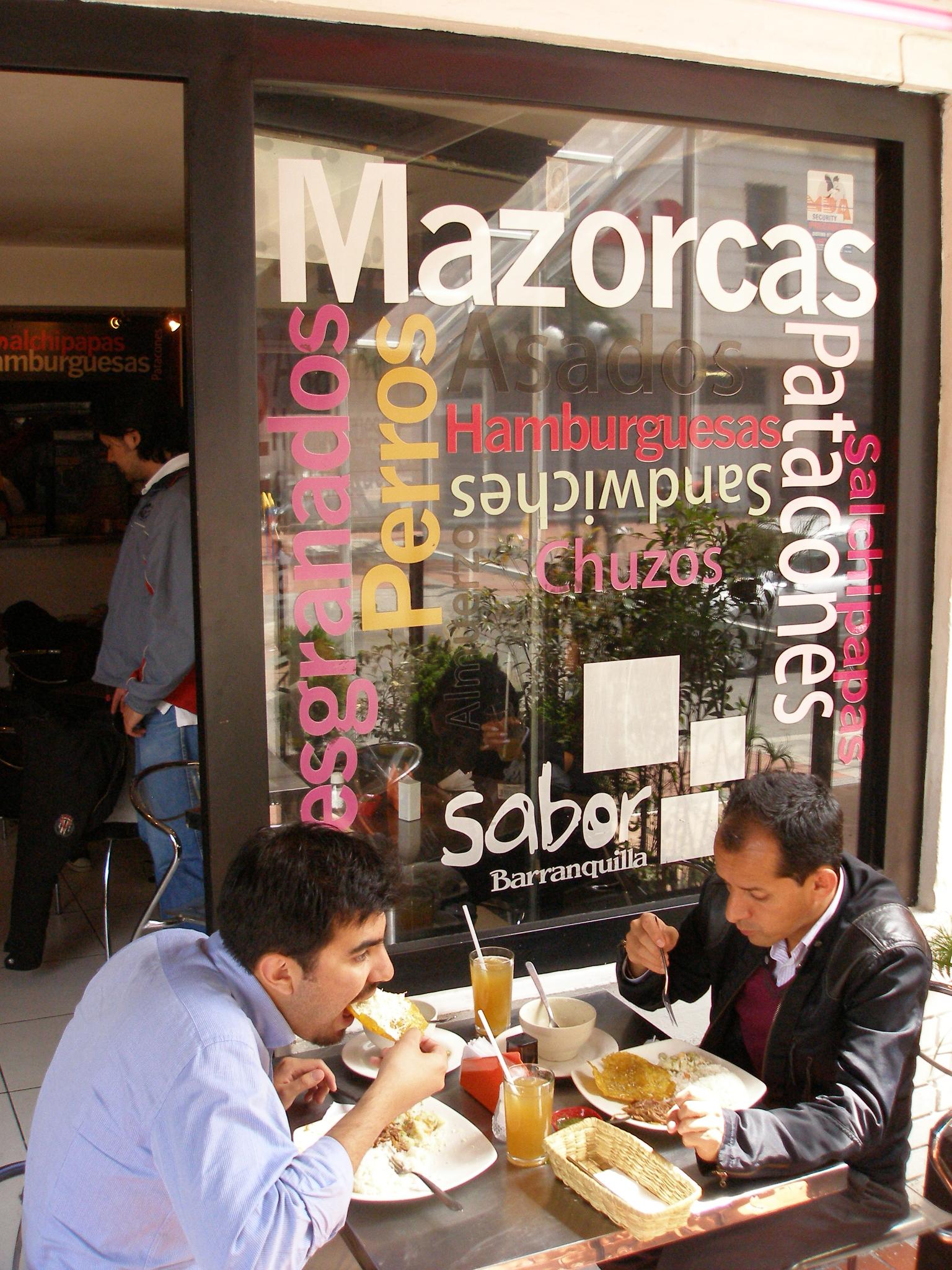 El Mapa Culinario De La Costa En Bogot Vivo Relativo