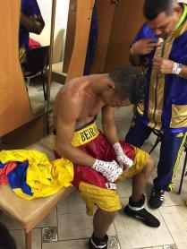 Boxeador derrotado